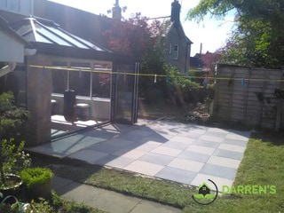 After landscaping work near kettering