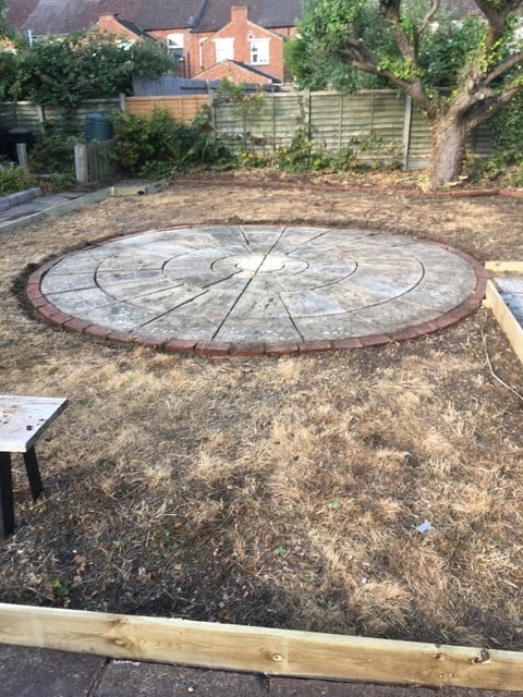 Hardscaping in Kettering Northants