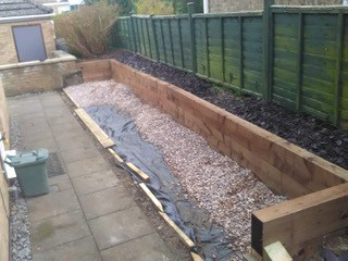 stage 3 - Garden lansdcaping in Kettering