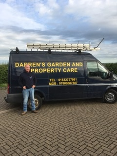 Darrens Garden And Property Care Vehicle